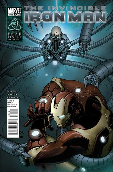 Invincible Iron Man (2008) 502-A by Marvel
