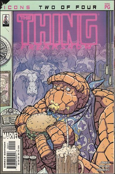 Thing: Freakshow 2-A by Marvel