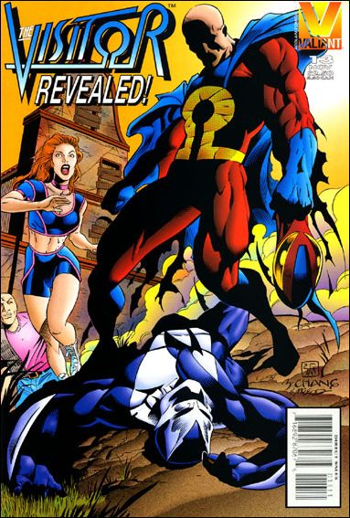 Visitor (1995) 13-A by Valiant