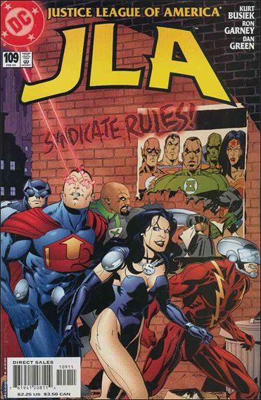 JLA 109-A by DC