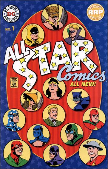 All Star Comics (1999) 1-B by DC