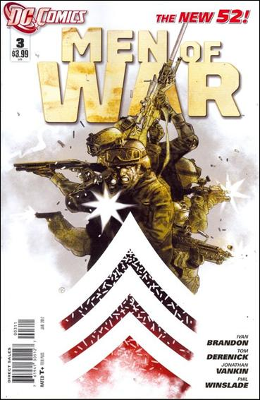 Men of War (2011) 3-A by DC