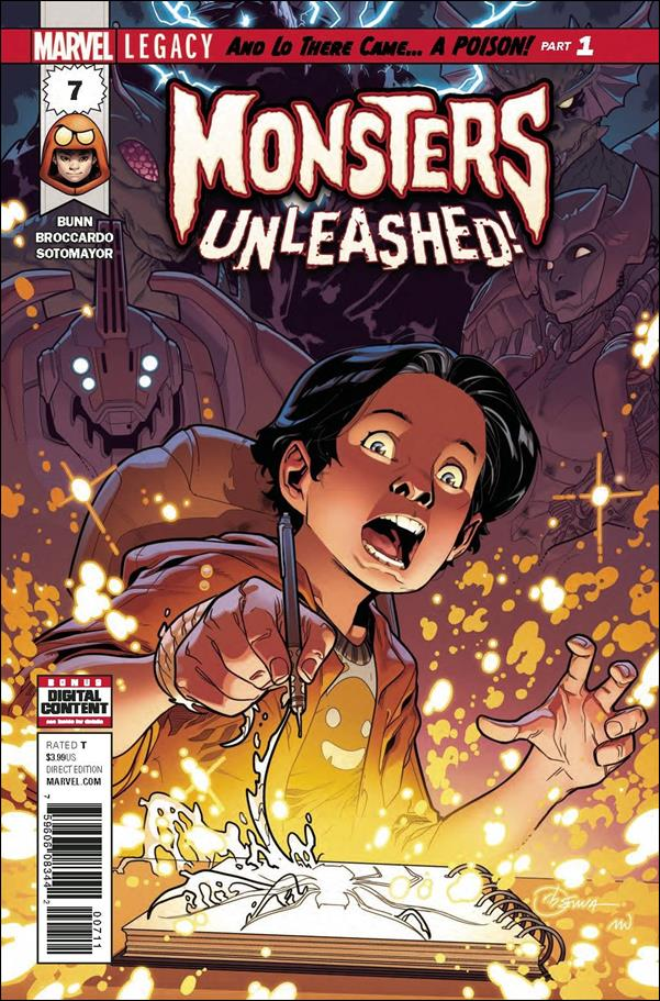 Monsters Unleashed (2017/06) 7-A by Marvel