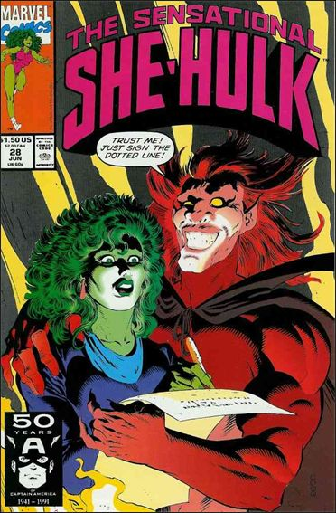 Sensational She-Hulk 28-A by Marvel