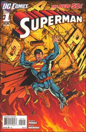 Superman (2011) 1-B