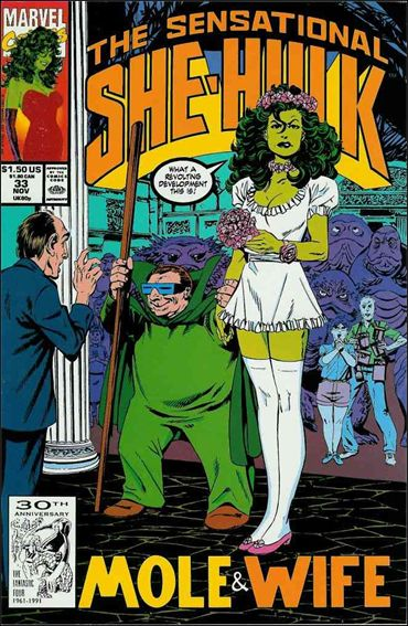 Sensational She-Hulk 33-A by Marvel