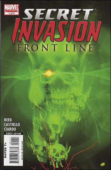 Secret Invasion: Front Line 1-A by Marvel