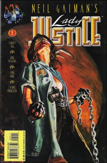 Neil Gaiman's Lady Justice (1995) 5-A by Tekno•Comix