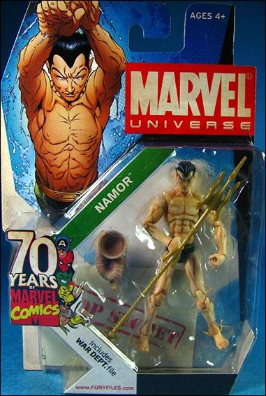 Marvel Universe Namor Jan 2009 Action Figure By Hasbro