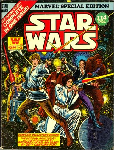 Marvel Special Edition featuring Star Wars 3-B by Marvel