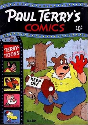 Paul Terry's Comics 89-A