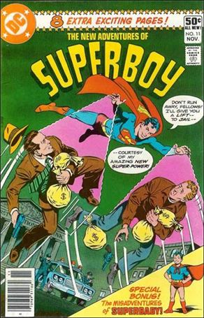 New Adventures of Superboy 11-A