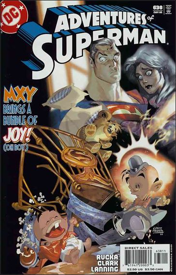 Adventures of Superman (1987) 638-A by DC