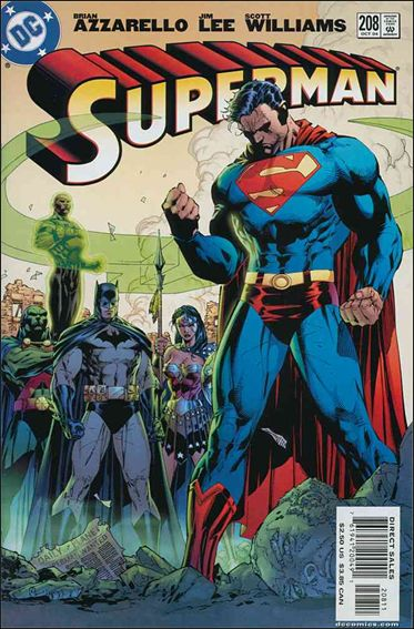 Superman (1987) 208-A by DC