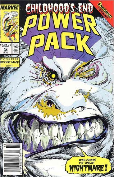 Power Pack (1984) 42-A by Marvel