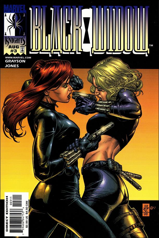 Black Widow (1999) 3-A by Marvel