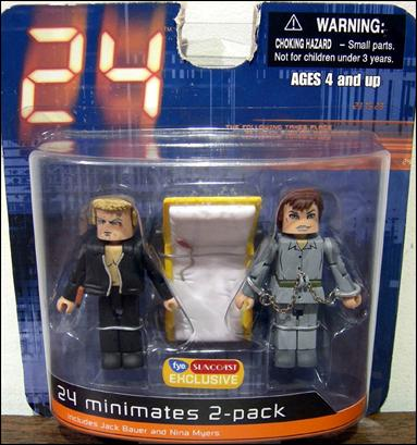 24 Minimates (Exclusives) End of Day 2 2-Pack by Diamond Select
