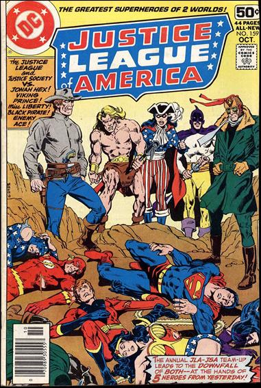 Justice League of America (1960) 159-A by DC