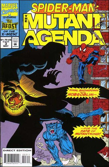 Spider-Man: The Mutant Agenda 3-A by Marvel