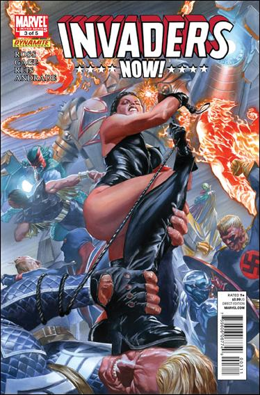 Invaders Now 3-A by Marvel
