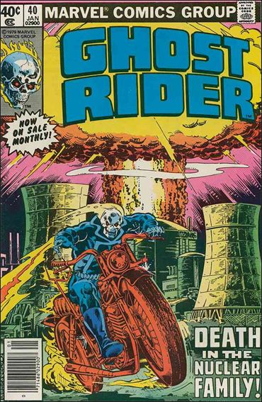 Ghost Rider (1973) 40-A by Marvel