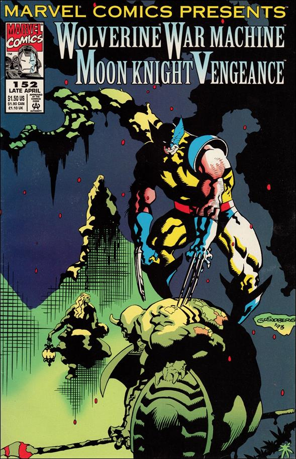 Marvel Comics Presents (1988) 152-A by Marvel