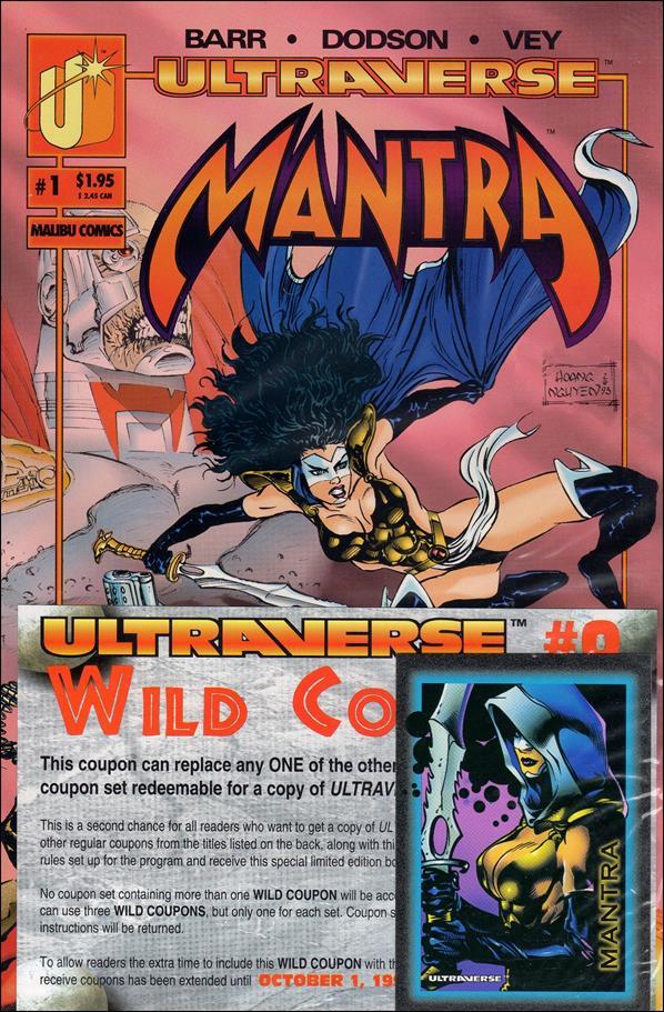 Mantra (1993) 1-A by Malibu
