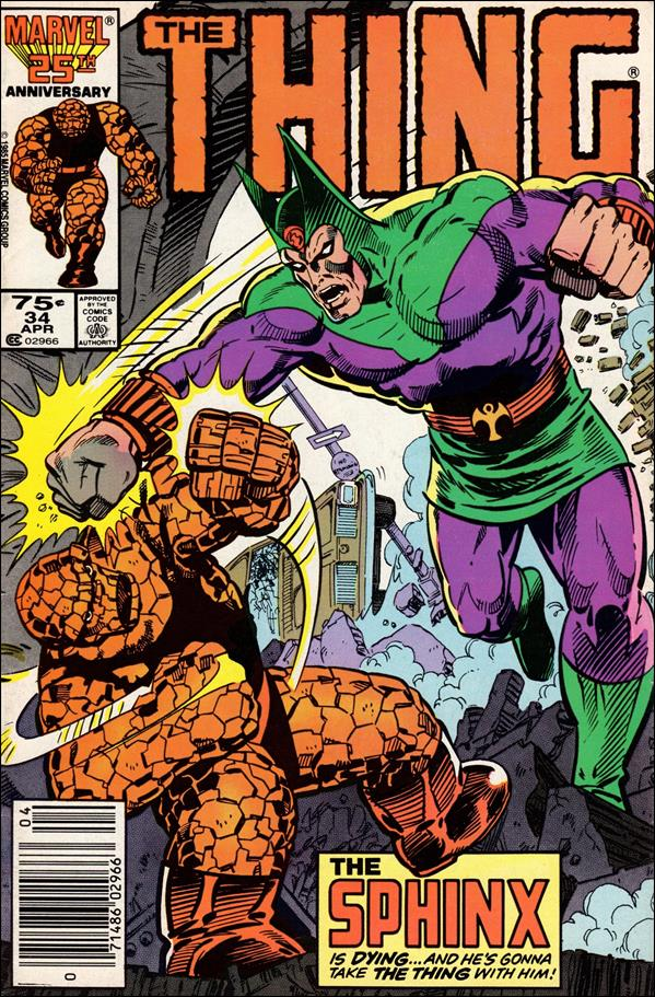 Thing (1983) 34-A by Marvel