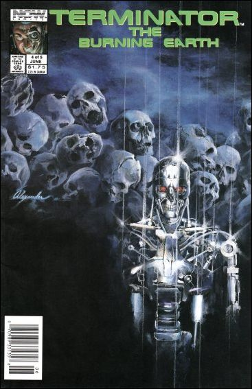 Terminator: The Burning Earth 4-A by Now Comics