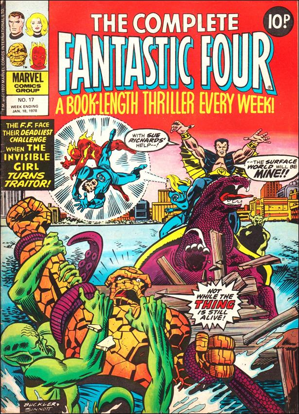 Complete Fantastic Four (UK) 17-A by Marvel UK