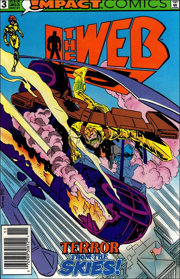 Web (1991) 3-A by Impact Comics