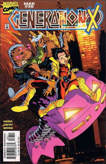 Generation X 36-A by Marvel