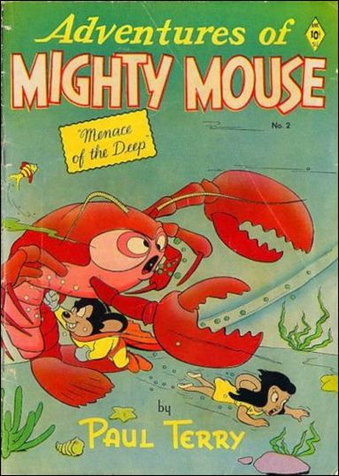 Adventures of Mighty Mouse (1952) 2-A by St. John