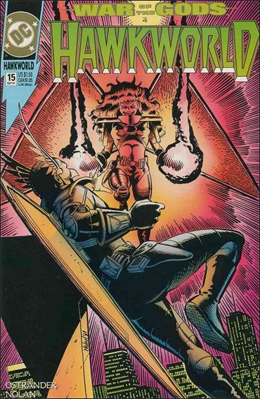 Hawkworld (1990) 15-A by DC
