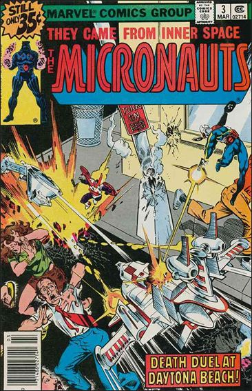 Micronauts (1979) 3-A by Marvel