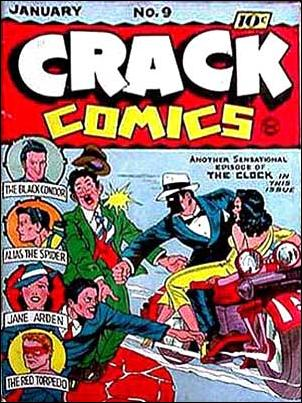 Crack Comics 9-A by Quality