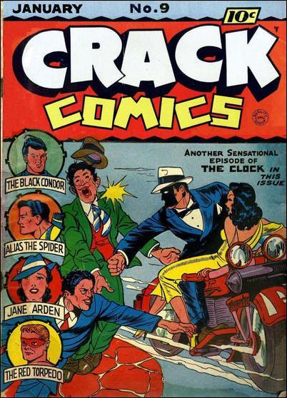 Crack Comics 9-A by Quality