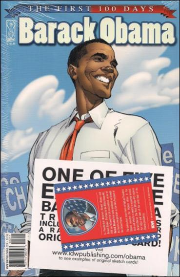 Barack Obama 2-A by IDW