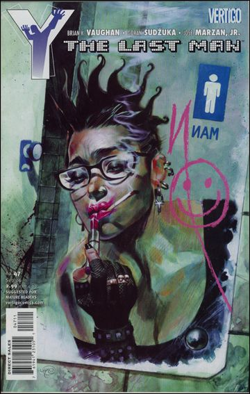 Y: The Last Man 47-A by Vertigo