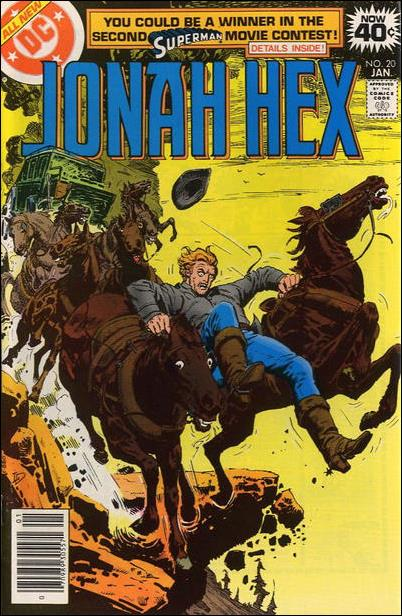 Jonah Hex (1977) 20-A by DC