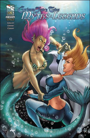 Grimm Fairy Tales Myths & Legends 8-B by Zenescope Entertainment