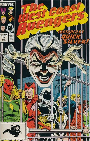 West Coast Avengers (1985) 34-A by Marvel