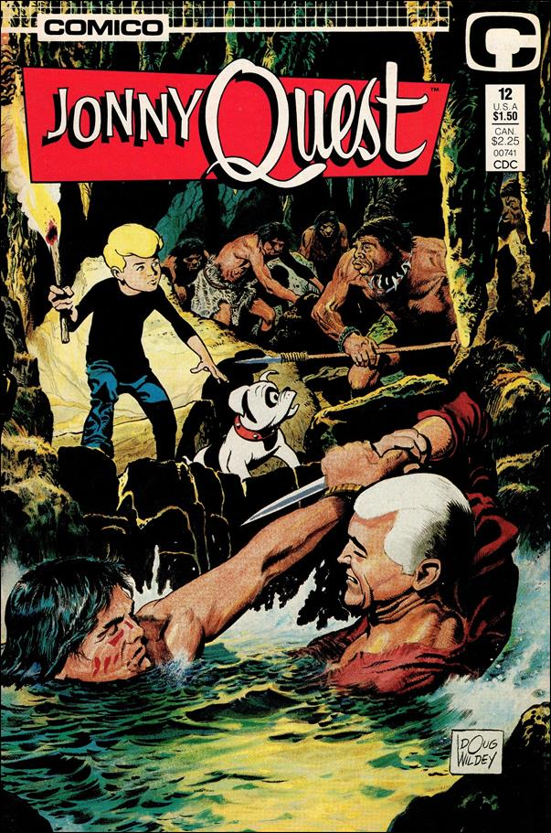 Jonny Quest (1986) 12-A by Comico
