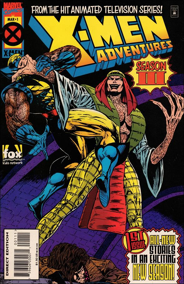 X-Men Adventures (1995) 1-A by Marvel