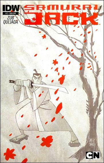 Samurai Jack 17-B by IDW