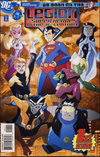 Legion of Super-Heroes in the 31st Century 1-A by DC