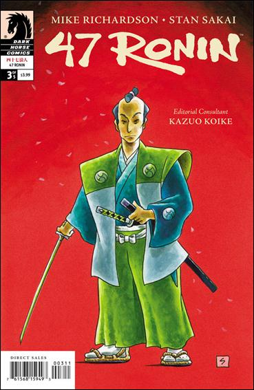 47 Ronin 3-A by Dark Horse