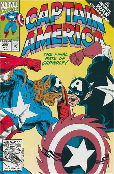 Captain America (1968) 408-A by Marvel