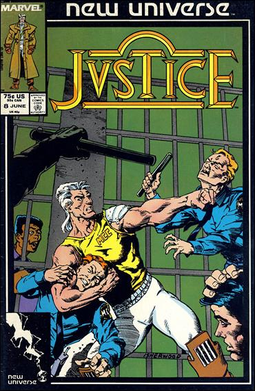 Justice (1986) 8-A by Marvel