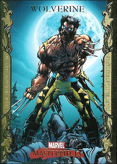 2007 Marvel Masterpieces (Parallel Gold Border Base Set) 90-A by Upper Deck